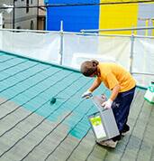 外壁塗装の作業
